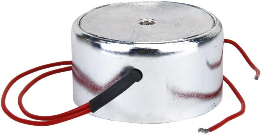 Succión 2.5KG 25N Mini Electroimán Solenoide 12v Electroimán 12 Voltios Pequeño Electroimán Bobina 24V Bobina 6V Imán Eléctrico