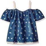 kensie Big Girls' Fashion Tank (More Styles Available), 2911 Medium Blue Denim, 10/12