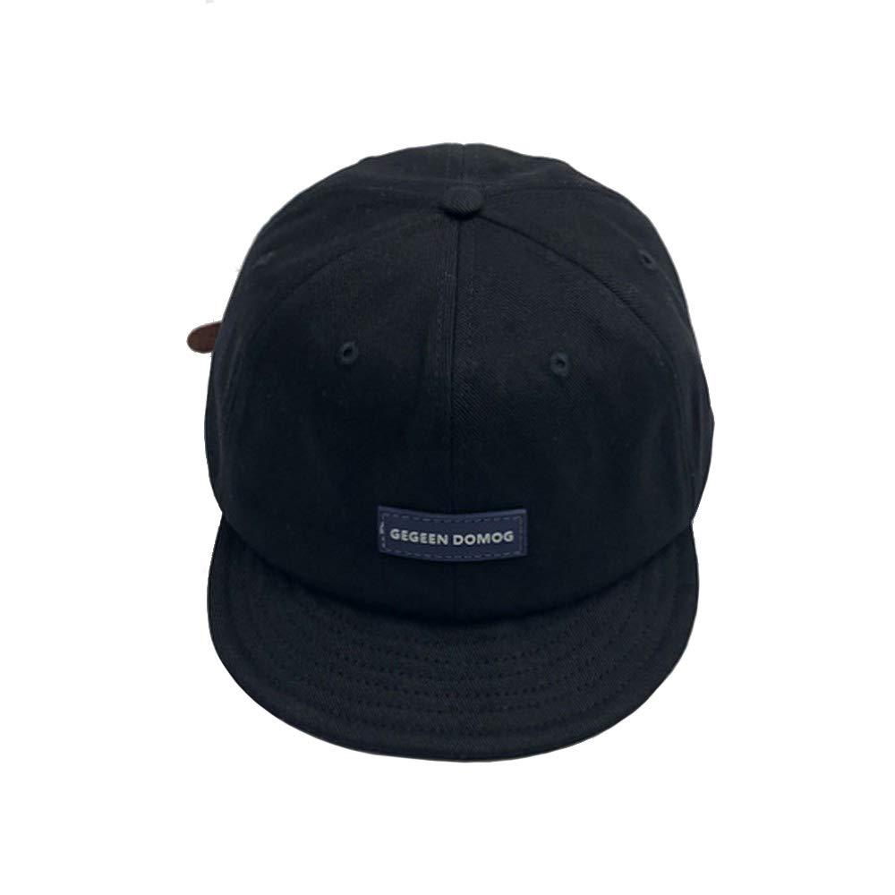 Clape Short Bill Soft Cotton Twill Sports Cap Solid Trucker/Baseball Style Hat