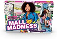 Hasbro Gaming Mall Madness Game, Talking Electronic Shopping Spree Board Game for Kids Ages 9 and Up, for 2 to