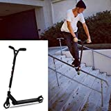 Benlet Adjustable Height Pro Scooter Complete, 2-Wheel Freestyle Stunt Scooter, Aluminum Commute Kick Extreme Scooter for Adult Teens Kids (US Stock) (Black)