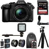 Panasonic LUMIX G85MK Mirrorless Camera &12-60mm Lens w/64GB Accessory Bundle