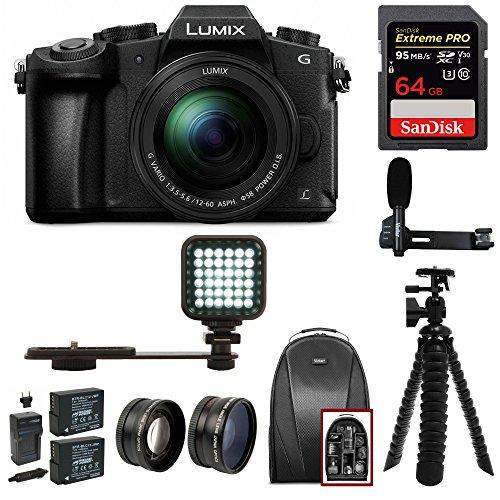 Panasonic LUMIX G85MK 4K Mirrorless Kit, 12-60mm Lens, Sandi