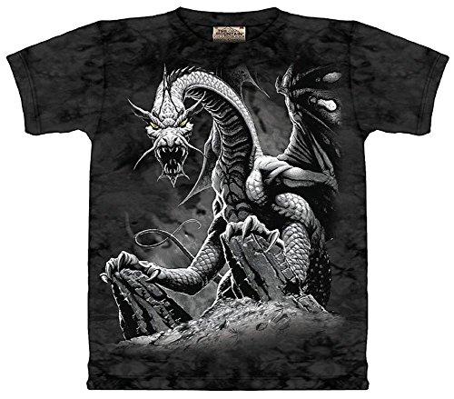 Youth: Black Dragon Kids T-Shirt Size ()