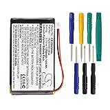 Cameron Sino 1250mAh Replacement 361-00019-02 IA2B309C4B32 Battery for Garmin Nuvi 300 300T 310 310T 310D 350 350T 360 360T 370 Navigators With Tools Kit