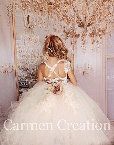 Dream Mini Bride Feather Dress. by Carmen Creation