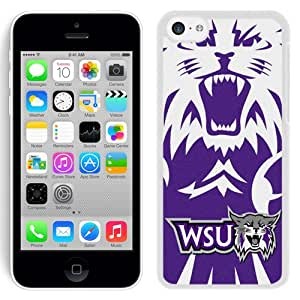 Beautiful Designed With NCAA Big Sky Conference Football Weber State Wildcats 7 Protective Cell Phone Hardshell Cover Case For iPhone 5C Phone Case Black