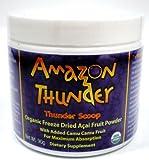 Amazon Thunder Thunder Scoop Organic Freeze Dried Acai Fruit Powder, with Camu Camu 3.17 oz (90 g)