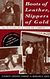 Front cover for the book Boots of Leather, Slippers of Gold: The History of a Lesbian Community by Elizabeth Kennedy