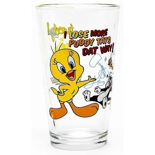 Looney Glass Tunes - Looney Tunes Tweety Toon Tumbler
