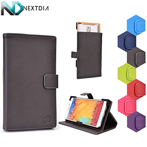 Eklasse XM590 Stand Case with Quick Camera Access | Fatal Gray + NEXTDIA Cable Organizer