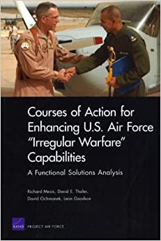 Courses of Action for Enhancing U.S. Air Force 'Irregular Warfare' Capabilities: A Functional Solutions Analysis