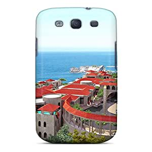 Sanp On Case Cover Protector For Galaxy S3 (beautiful Resort Hotel In Malaysia)