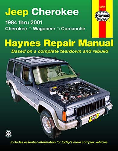 Jeep Cherokee,Wagoneer,Comanche,1984-2001 (Haynes Repair -
