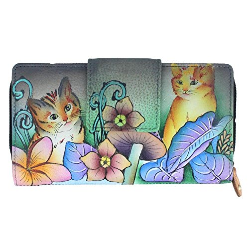 anuschka-two-fold-organizer-wallet-cats-in-wonderland-one-size