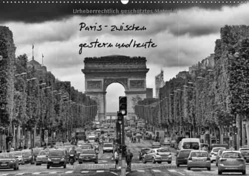 Paris (Wandkalender 2013 DIN A4 quer): Paris in schwarz-weiß (Monatskalender, 14 Seiten)