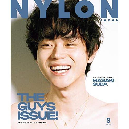 NYLON JAPAN 2019年9月号 表紙画像