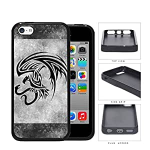 Eagle And Snake Aztec Grunge Rubber Silicone TPU Cell Phone Case Apple iPhone 5c