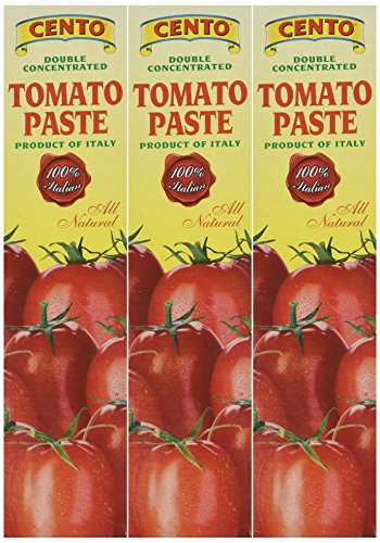 Cento Tomato Paste in Tube 4.56 oz,Pack of 3 (Cento Italian Tomatoes)