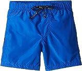 Dolce & Gabbana Kids Baby Boy's Mid Swim Boxer (Infant) Blue Print 9-12 Months