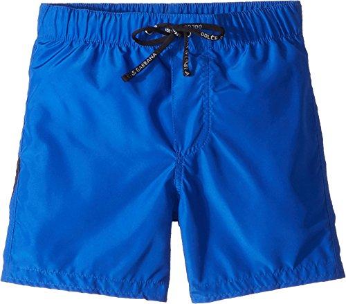 Dolce & Gabbana Kids Baby Boy's Mid Swim Boxer (Infant) Blue Print 9-12 Months by Dolce & Gabbana
