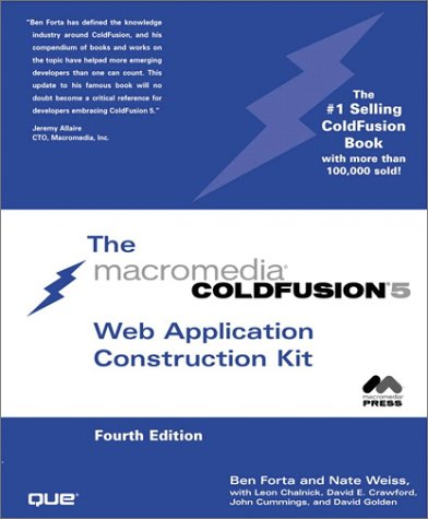 ColdFusion 5 Web Application Construction Kit (4th Edition) by Brand: Pearson Education