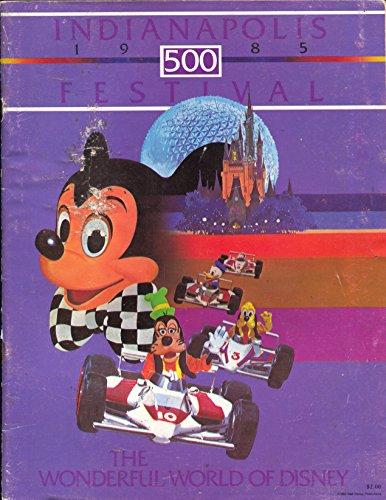 Indianapolis 500 Festival Program 1985-Disney theme-Mickey Mouse-VG