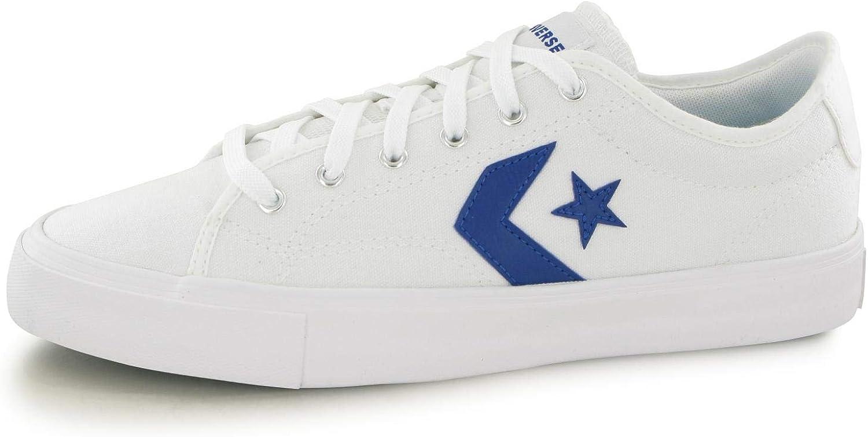 converse ox white