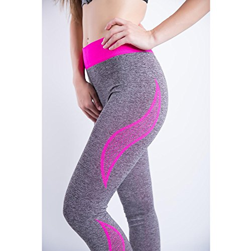 Cuciture 3 Stile Stretti Donne Senza Pantaloni Fitness Leggings Stretto Iperelastico Bozevon Yoga P8q4TxH