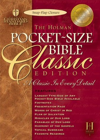 Download The Holy Bible: Holman Christian Standard Bible, Black Bonded Leather, Snap Flap PDF