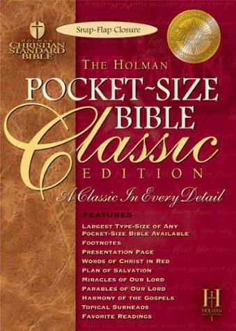The Holy Bible: Holman Christian Standard Bible, Black Bonded Leather, Snap Flap pdf