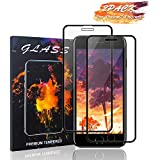 iPhone 8 iPhone7/6S/6 Screen Protector Haorz Full Coverage HD Tempered Glass Film Protection [2 Pack] Bubble-Free Case Friendly Anti Fingerprint 3D-Touch Compatible with iPhone 8 iPhone7/6S/6 - Black