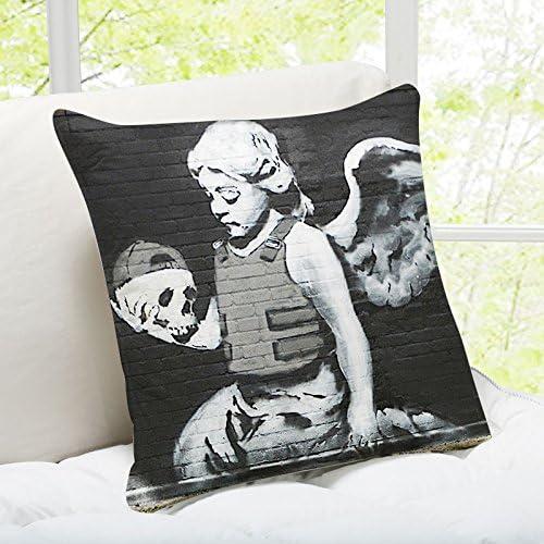 Fallen Angel London iLeesh Banky Art Throw Pillow