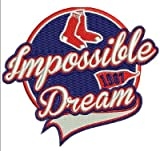 2017 RED SOX Patch'Impossible Dream' 1967 World Series Baseball YAZTRZEMSKI