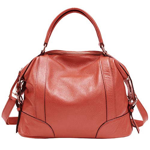 De Cuir Orange Sacs Femmes Watermelon Femme Vache Pour Top En Orlando Sac Bandoulière Mode À Dames Small Layer Taille Red Beck couleur Main U7xpw