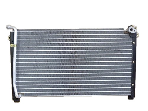 A-C Condenser - Pacific Best Inc For/Fit 4390 86-97 Nissan Hardbody Truck 87-95 Pathfinder 2WD/4WD without Receiver & Dryer