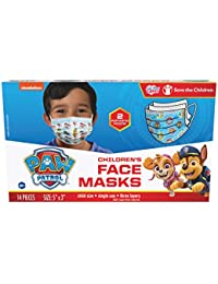 Children's Single Use Face Mask, 14 Count, Small, Ages 2-7, 2 Assorted Designs, Multi (27301)
