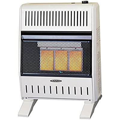Sure Heat Ceramic Plaque IR Wall or Floor Heater