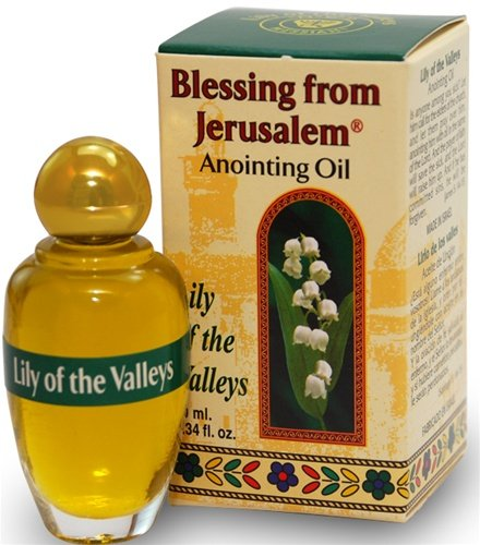 Blessing from Jerusalem Anointing oil - 10 ml ( .34 fl. oz. ) (Lily of the Valleys)