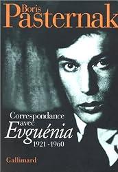 Correspondance: (1921-1960)
