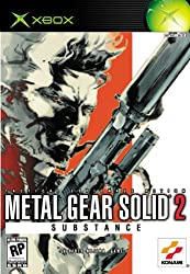 METAL GEAR SOLID 2 SUBSTANCE(Xbox版)