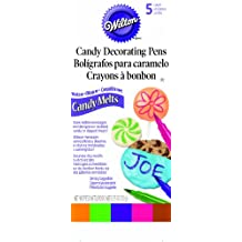 Wilton 609-131 Candy Melt Writing Pen, Bright Color