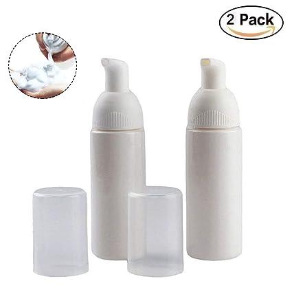 KeCool - Dispensador de jabón de espuma de 50 ml para bomba de plástico – Recargable