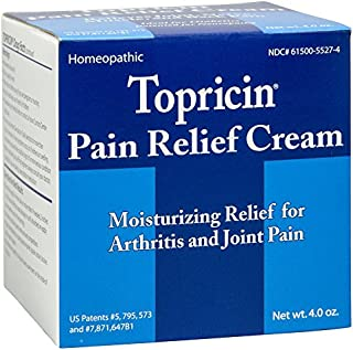 product image for Topricin - Moisturizing cream relief for arthritis and joint pain, 4 oz ( Pack of 10)