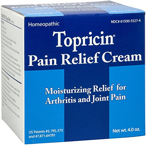 Topricin Pain Relief Cream 4 oz (Pack of 2)