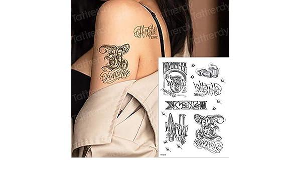 tzxdbh 5 pezzi-tatuaggio Nero uccello Rosa tatuaggio occhio ...