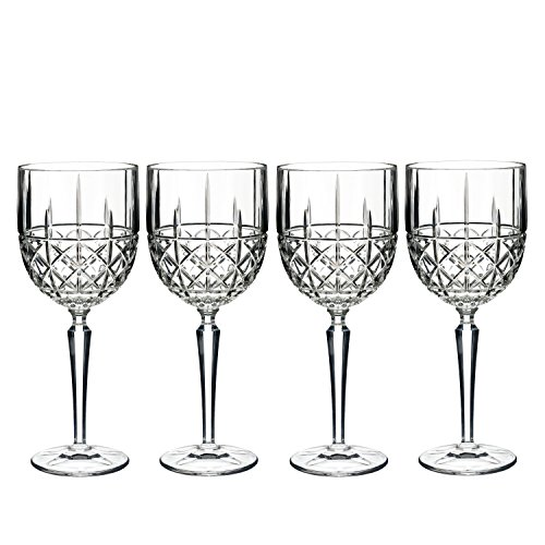 Marquis by Waterford Brady Goblet, Set of (Crystal Chalice)