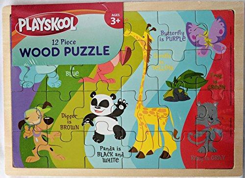 - Playskool Animal Colors Wood Puzzle