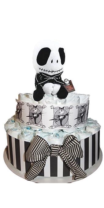 Amazon.com: Pesadilla antes de Navidad Diaper Cake – Versión ...