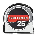 CRAFTSMAN Tape Measure, 25-Foot
